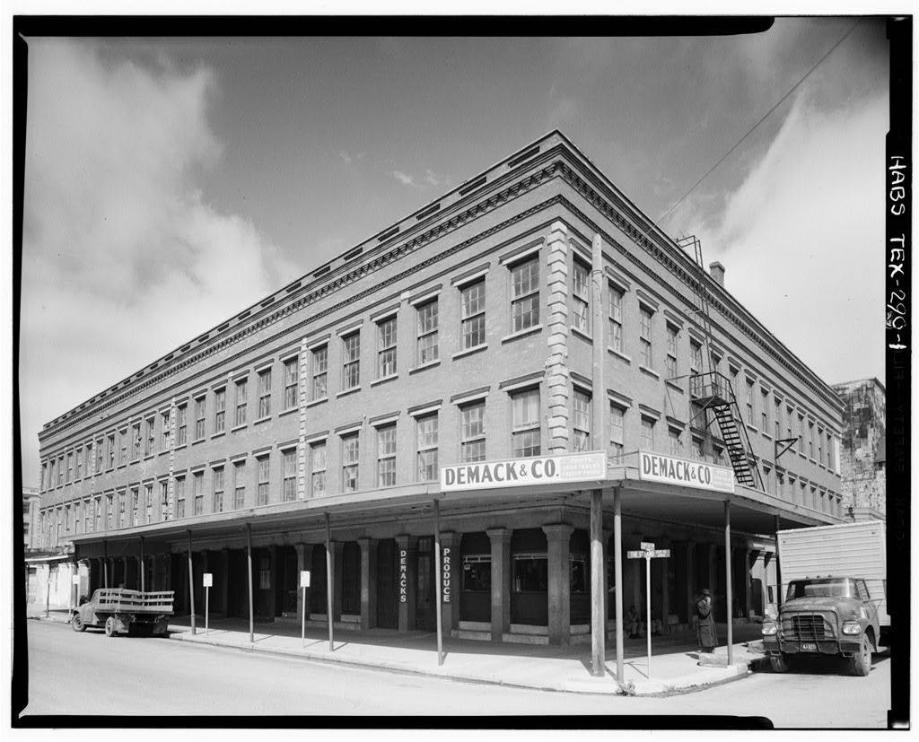 The Hendley Building in the Strand District of Galveston, Texas