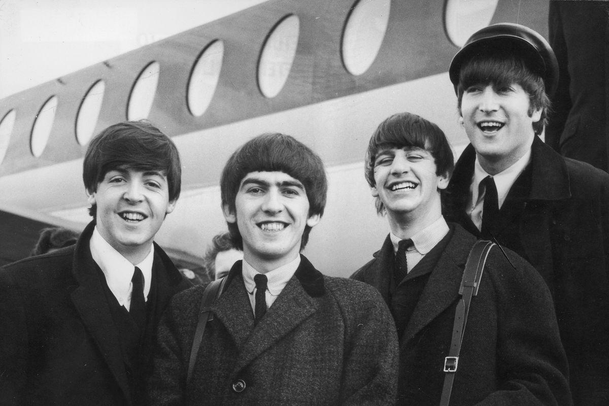 The Beatles in 1964.