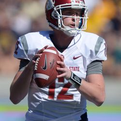 Connor Halliday turned in an incredibly gutsy performance