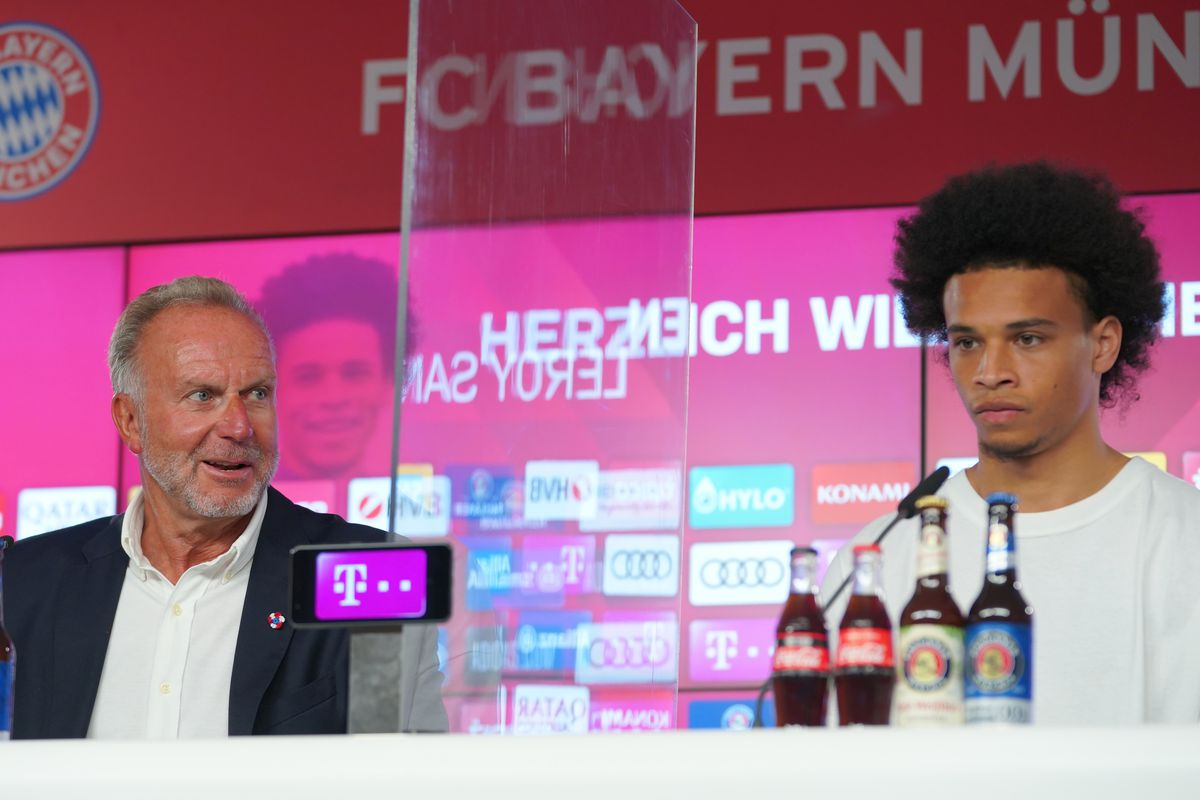 FC Bayern Muenchen Unveils New Signing Leroy Sane
