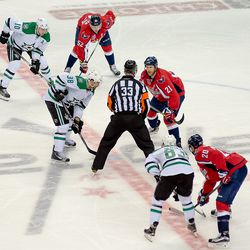Fiddler and Laich Prepare to Faceoff