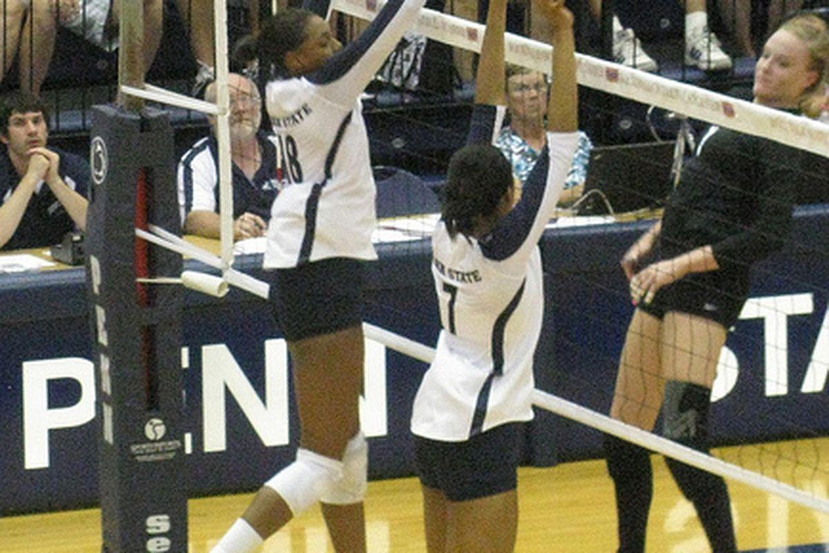 """woooooo volleyball (via <a href=""""http://www.flickr.com/photos/86441937@N04/7922524978/"""">Cari Greene</a>)"""