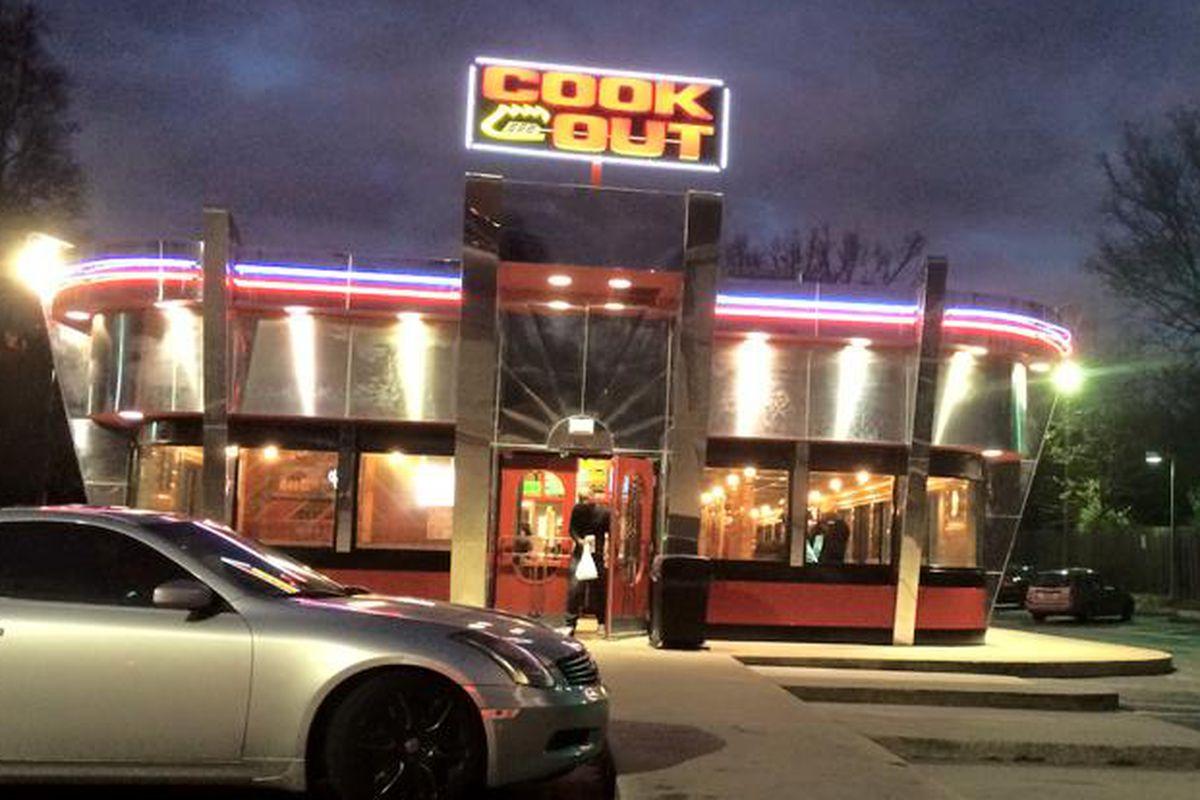 Cook-Out on Ponce de Leon Avenue.