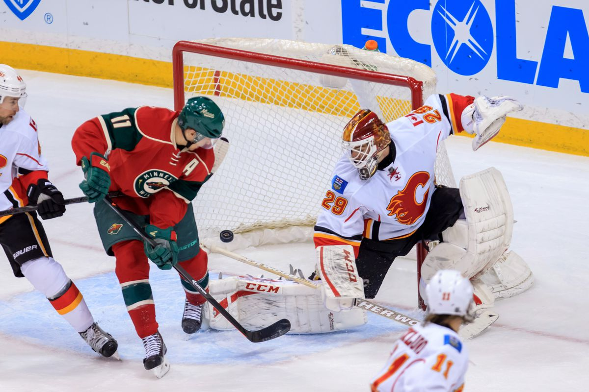 The Wild look to find their home game against the Flames