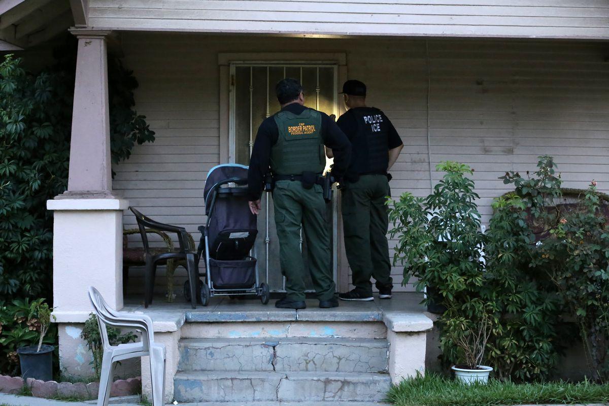 ICE raid fugitive operations