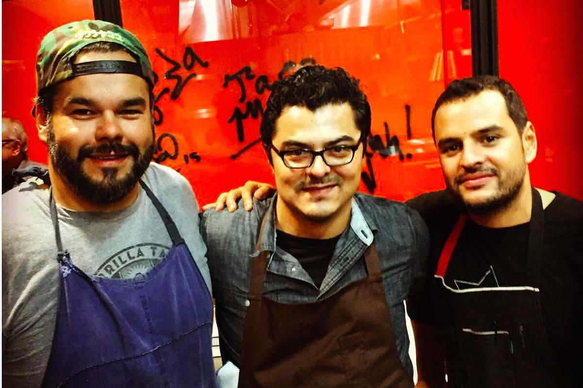 Wes Avila, Carlos Salgado, Fabian Gallardo