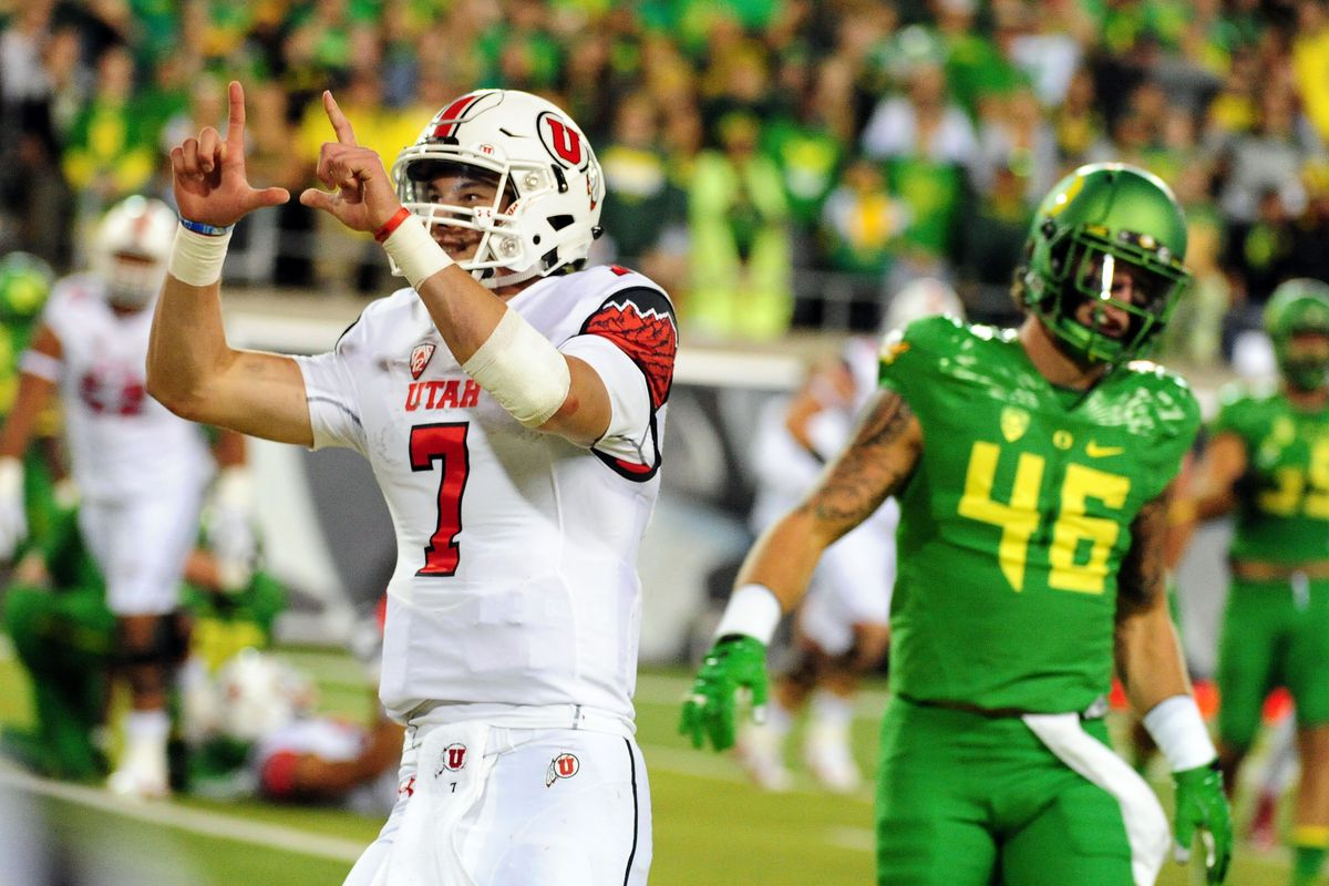 Following his big performance against Oregon, Utah QB Travis Wilson is hoping to help the Utes stay undefeated