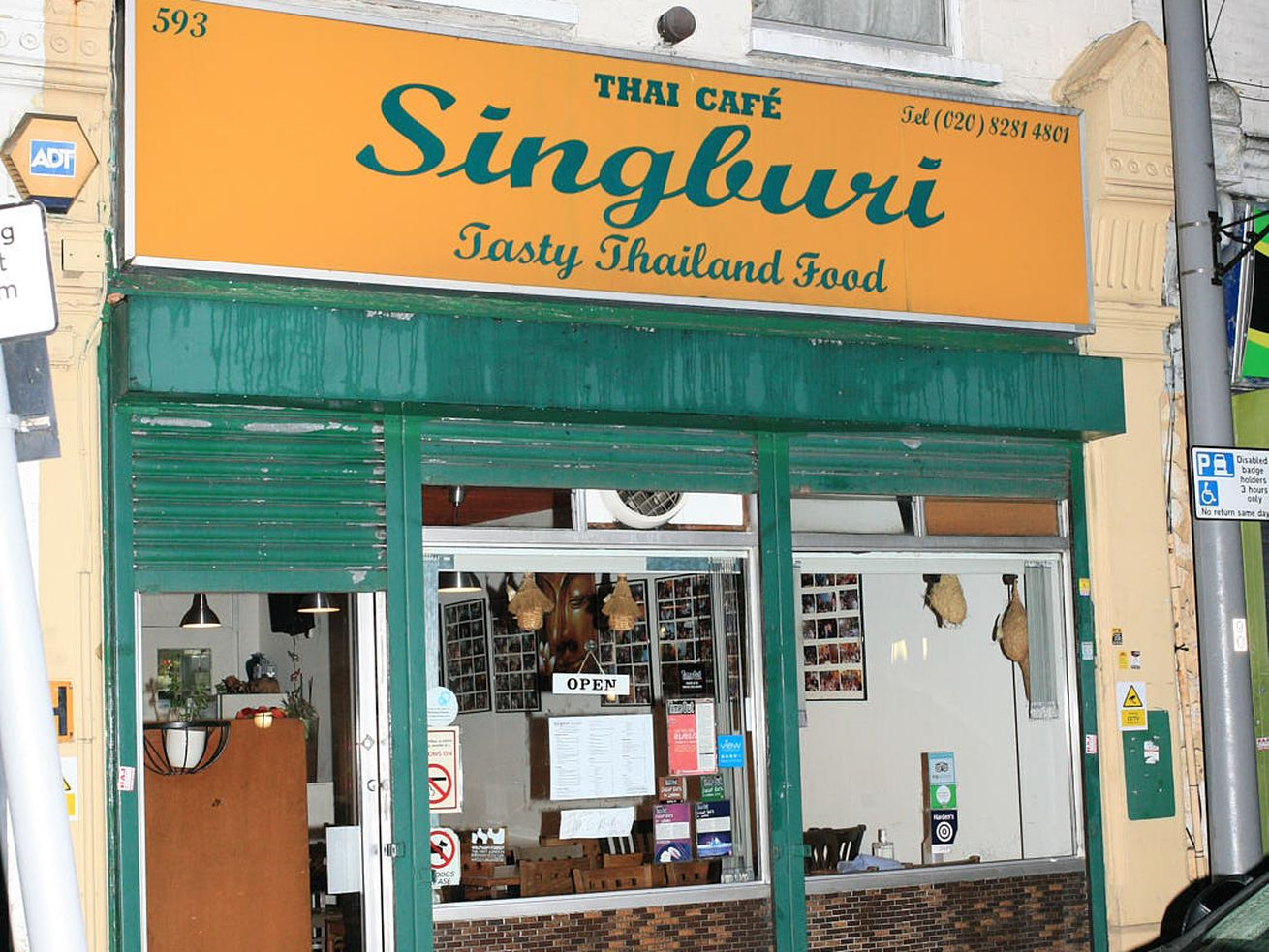 Singburi — London's great Thai restaurant — in Leytonstone. One of the best restaurants in the city