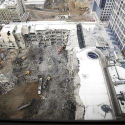City Creek construction and Demolition December 18, 2007.