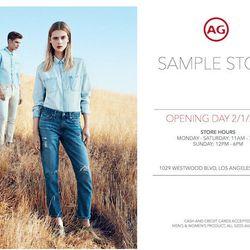 Flyer via AG Jeans