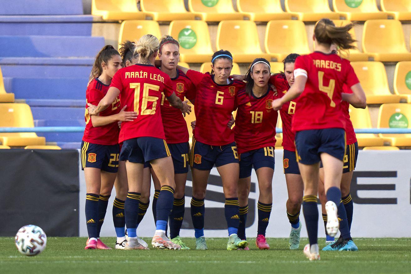Spain 3 - 0 Belgium: Cardona & Carmona Start; Ivana Features From The Bench