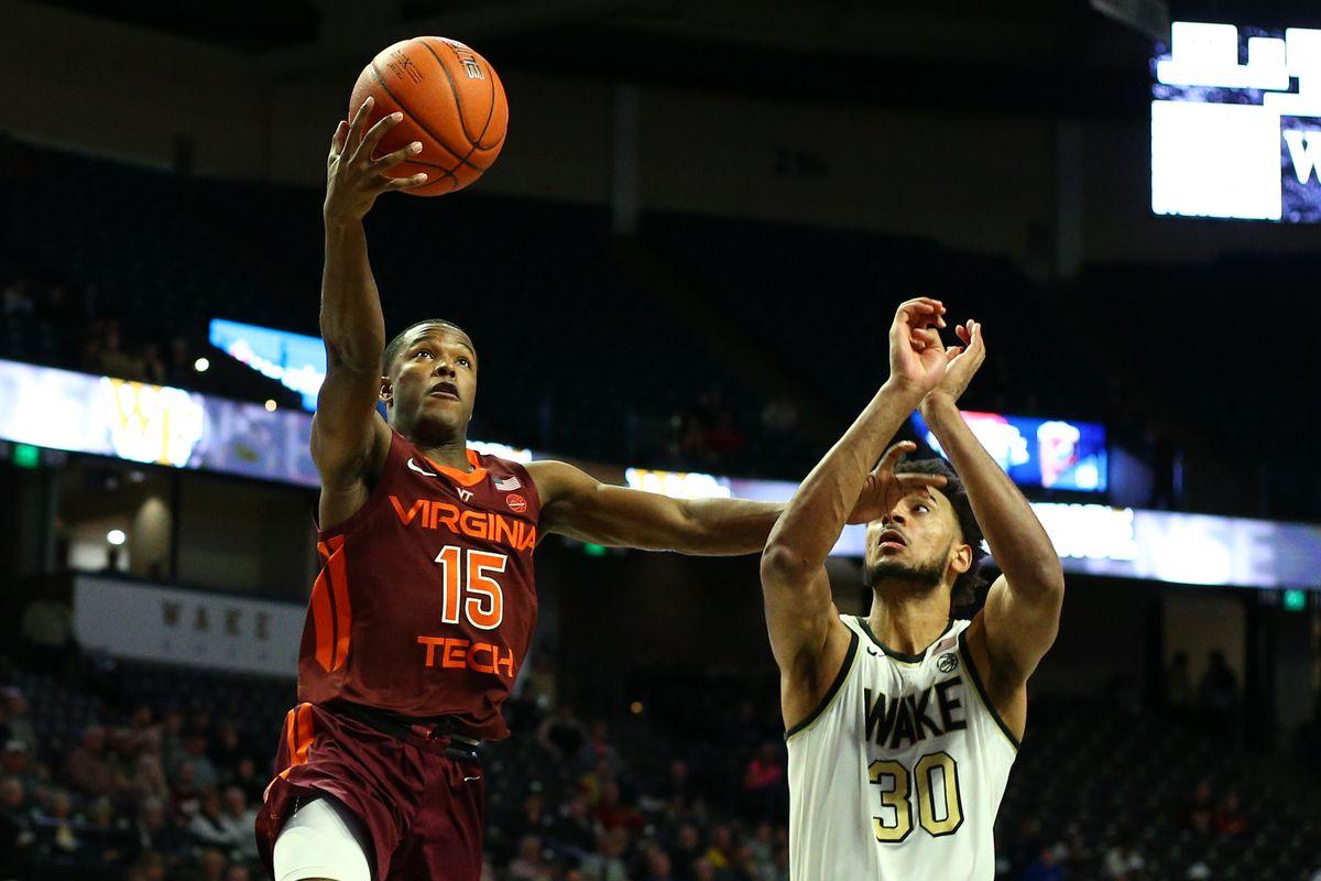 NCAA Basketball: Virginia Tech at Wake Forest