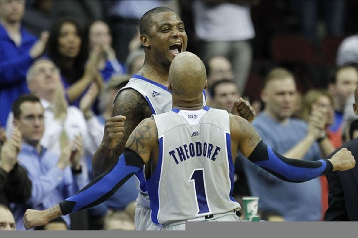Herb Pope and Jordan Theodore, reunited in Turkey? Stay tuned.  (Credit: Noah K. Murray/THE STAR-LEDGER via US PRESSWIRE)