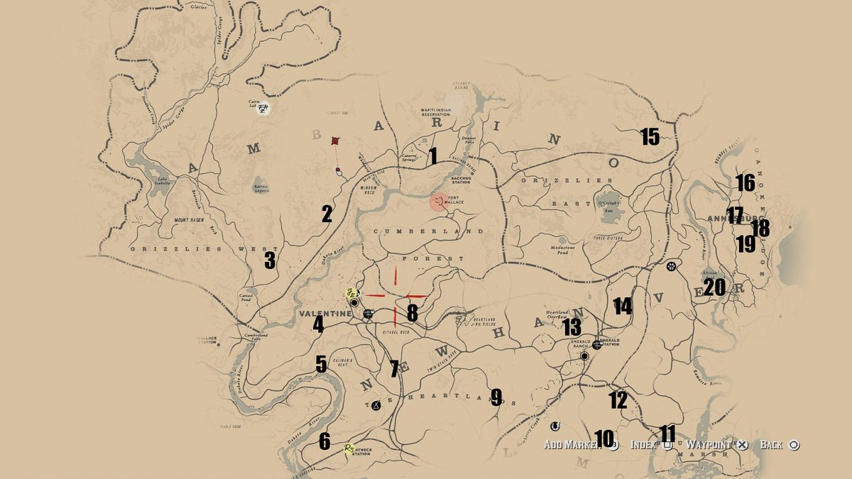 red dead redemption 2 dreamcatcher locations and reward polygon