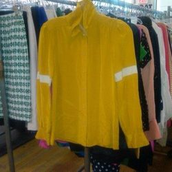 J.Crew silk blouse, $30