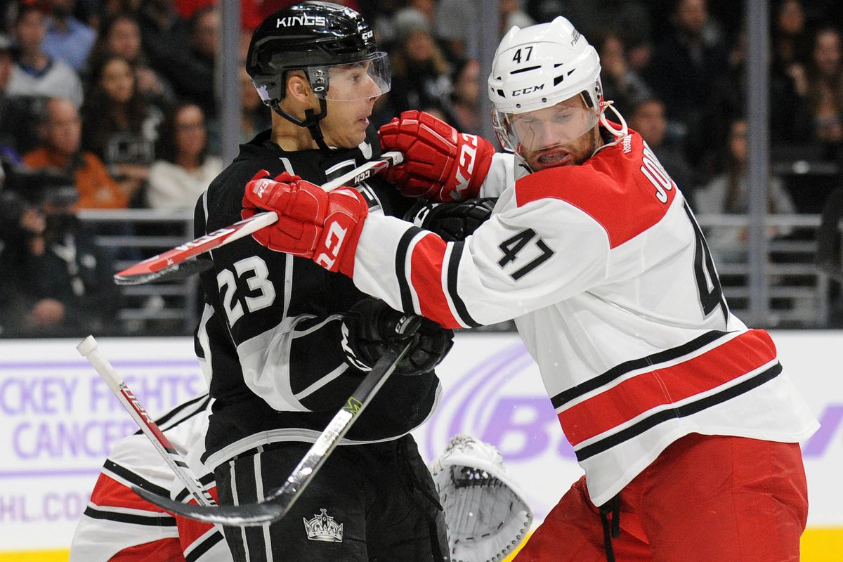 The look on Brown's face is the best thing about the Hurricanes