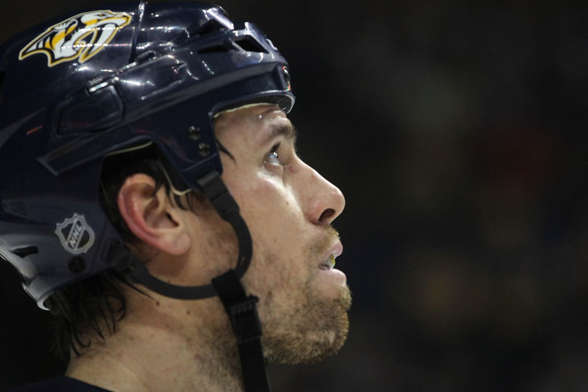 This is Shea Weber after 30 minutes of not shaving. Ladies, hopefully none of us can pull this off.
