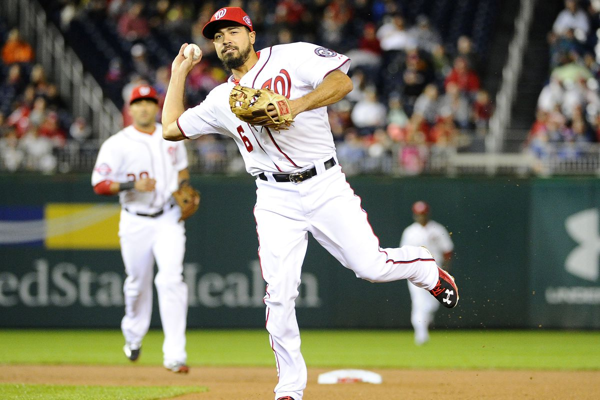 Anthony Rendon's return means that the Nats finally have their entire projected starting infield on the field at the same time.