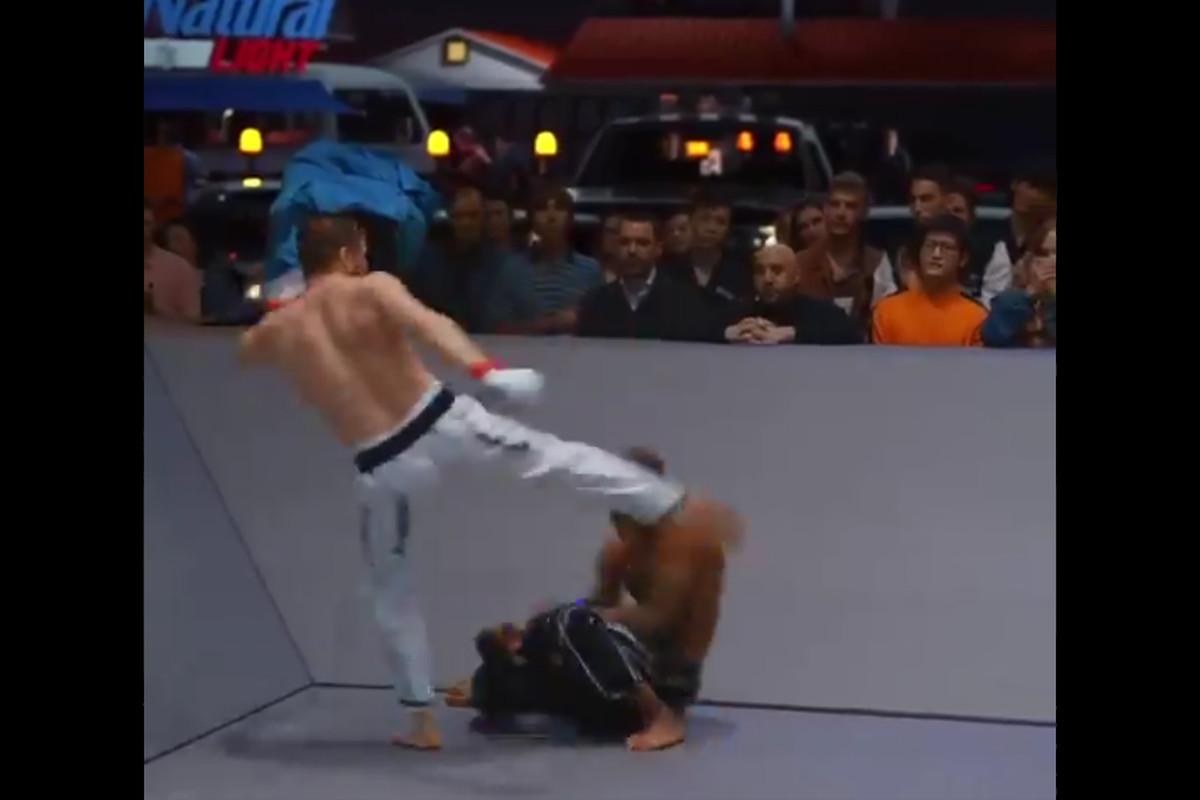 Vasili Antokhil scored the quickest KO in karate combat history.
