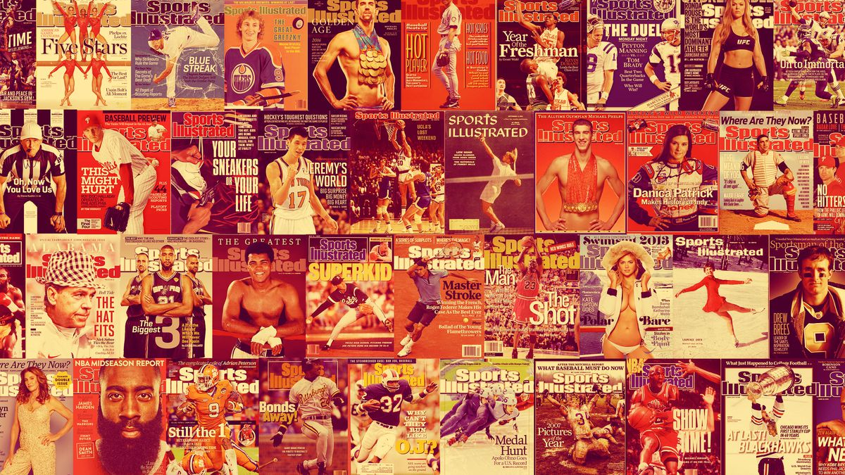 Image result for old sports illustrated magazine covers