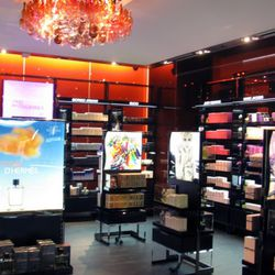 The fragrance area, which has a large and delightful selection of rollerballs.