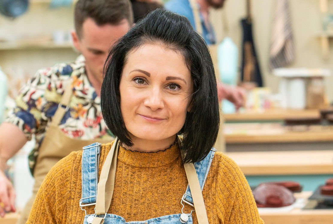 Michelle, a contestant on Great British Bake Off 2019