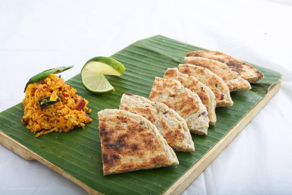 Dosas at Yaalu Yalu in South Croydon, one of the best Sri Lankan restaurants in London