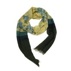 "<b>Rag and Bone</b> Uzbeck Flower Scarf, <a href=""http://otteny.com/catalog/new-items/uzbeck-flower-scarf.html#"">$195</a> at OTTE"