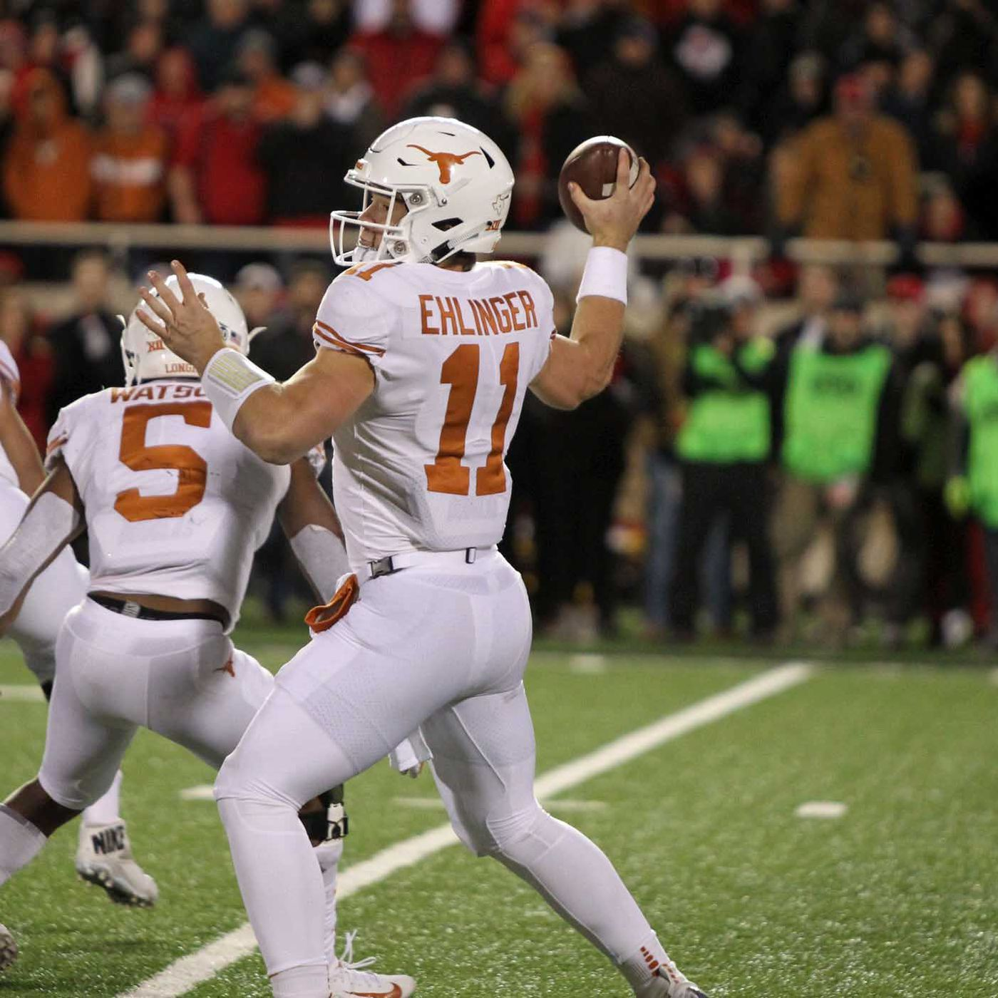 How The Texas Coaches Have Refined Qb Sam Ehlinger S Mechanics Burnt Orange Nation