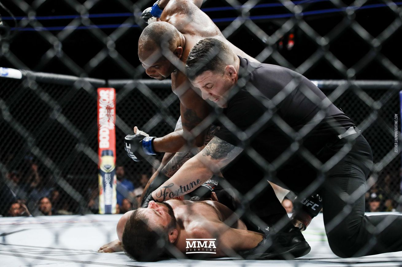 Daniel Cormier knocked Stipe Miocic out in their first meeting last July at UFC 226