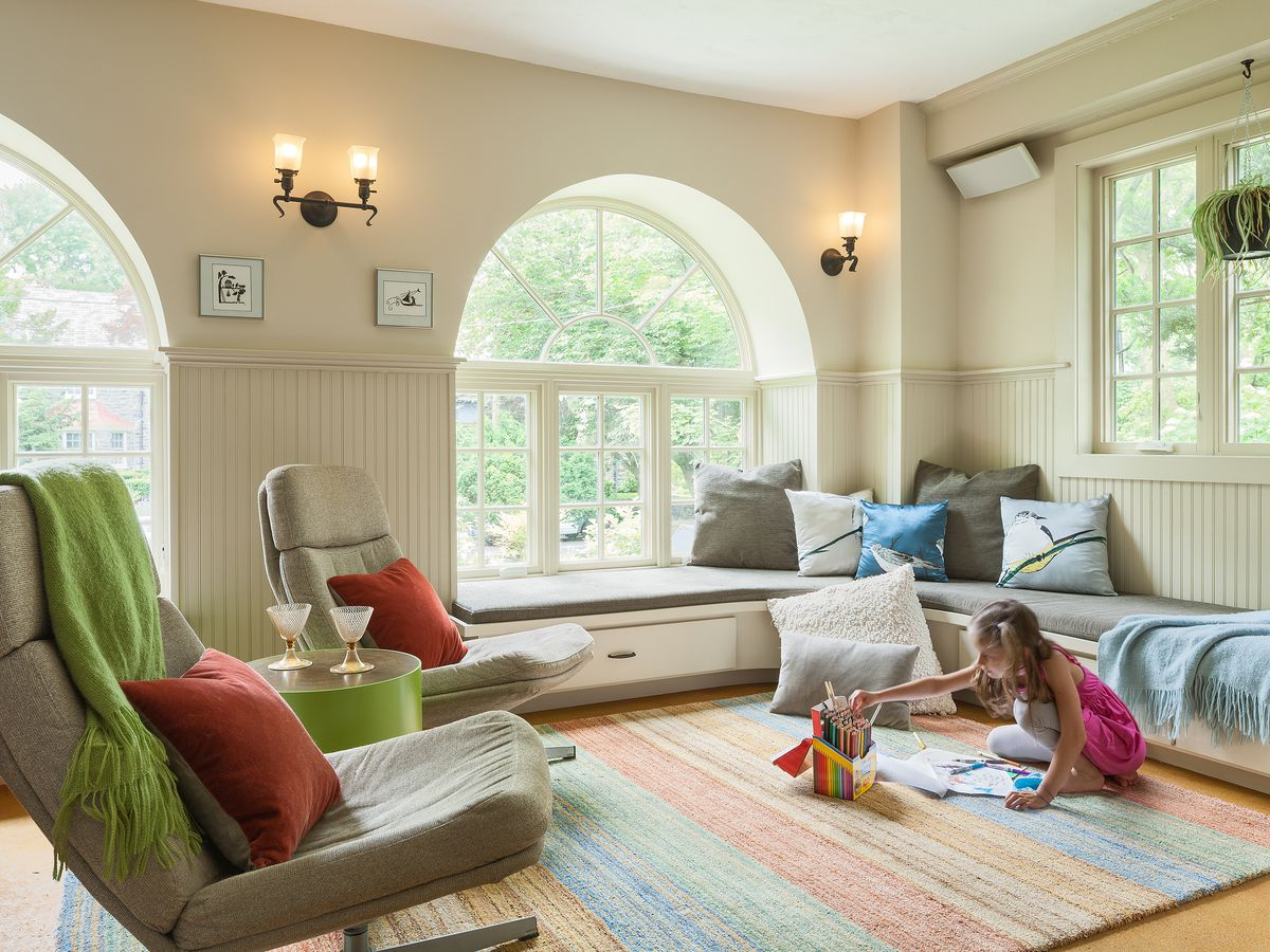 A Beige Family Room