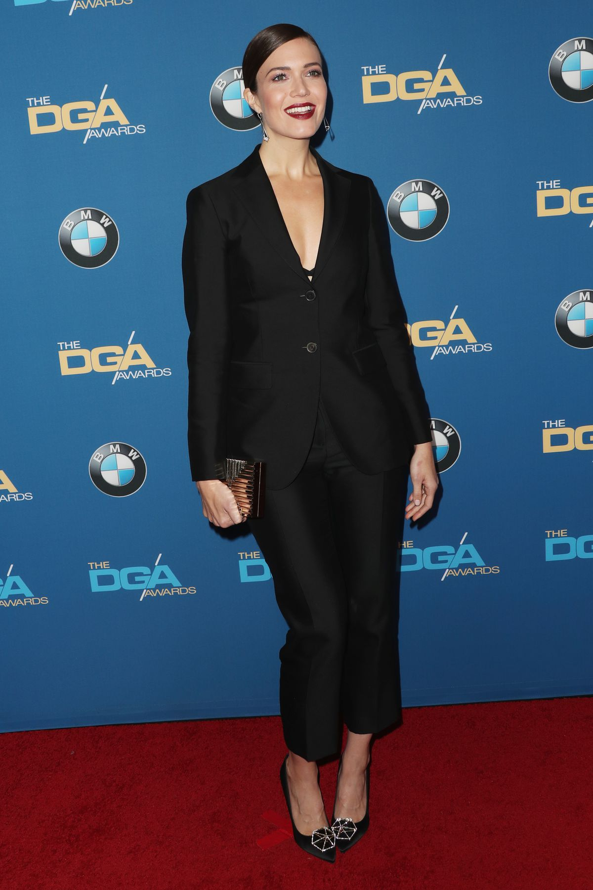Actress Mandy Moore attends the 69th Annual Directors Guild of America Awards at The Beverly Hilton Hotel on February 4, 2017 in Beverly Hills, California.