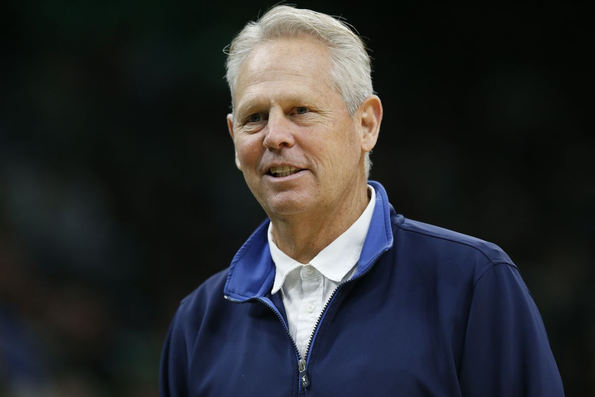Boston Celtics general manager Danny Ainge during the first half against the Chicago Bulls at TD Garden.