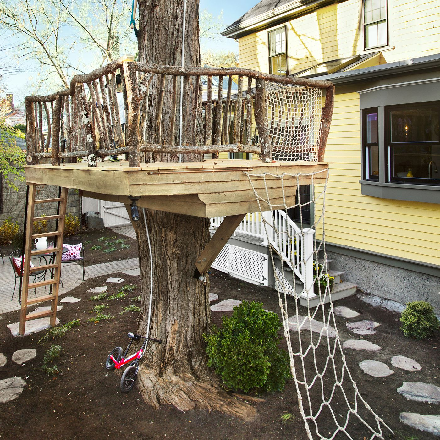 How To Build A Tree Fort Video Instructions This Old House