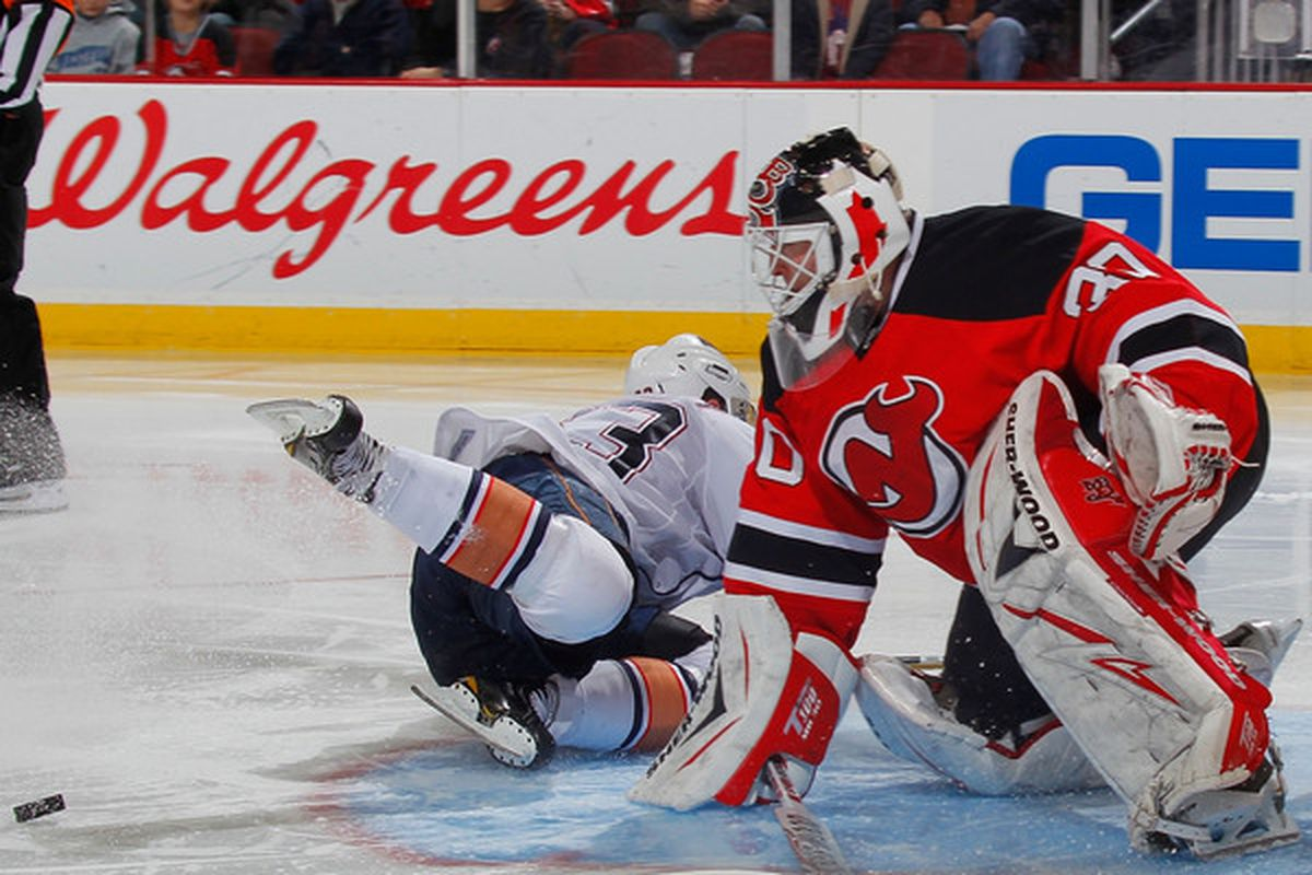 Martin Brodeur is a cheater.