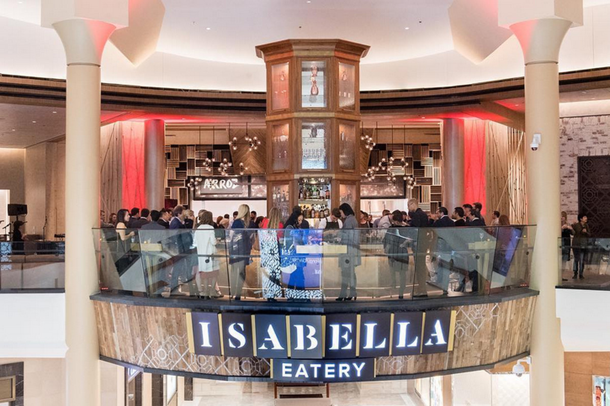 Tysons Corner Galleria S Third Floor Food Hall Includes Eight Distinct Eateries A Tail Bar And Private Dining E Isabella Eatery Official Photo