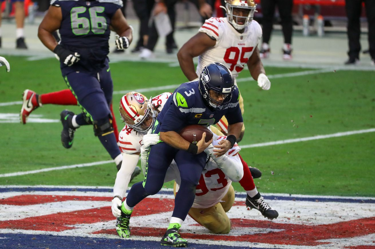 NFL: JAN 03 Seahawks at 49ers