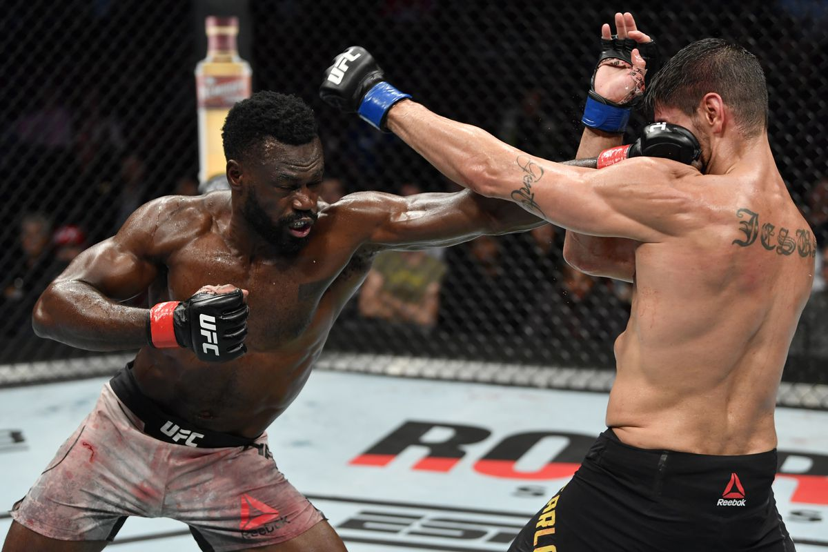 Midnight Mania! Uriah Hall is not happy Darren Till 'skip't the line' at Middleweight