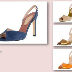 Slim sandal, $345.