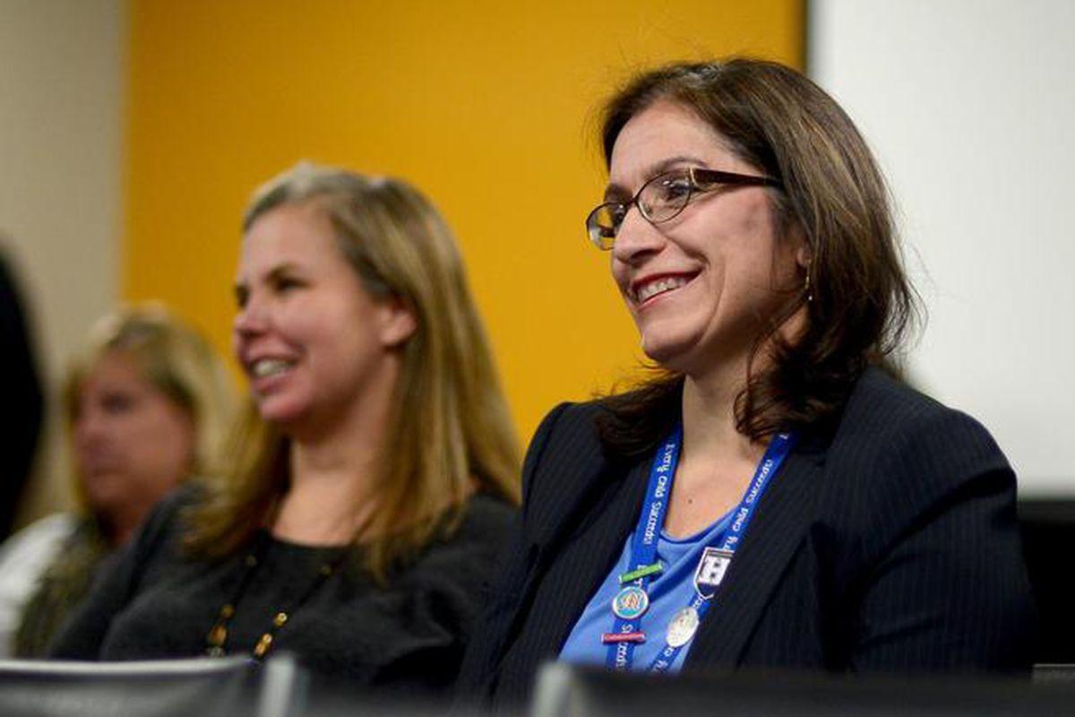 Susana Cordova, right.