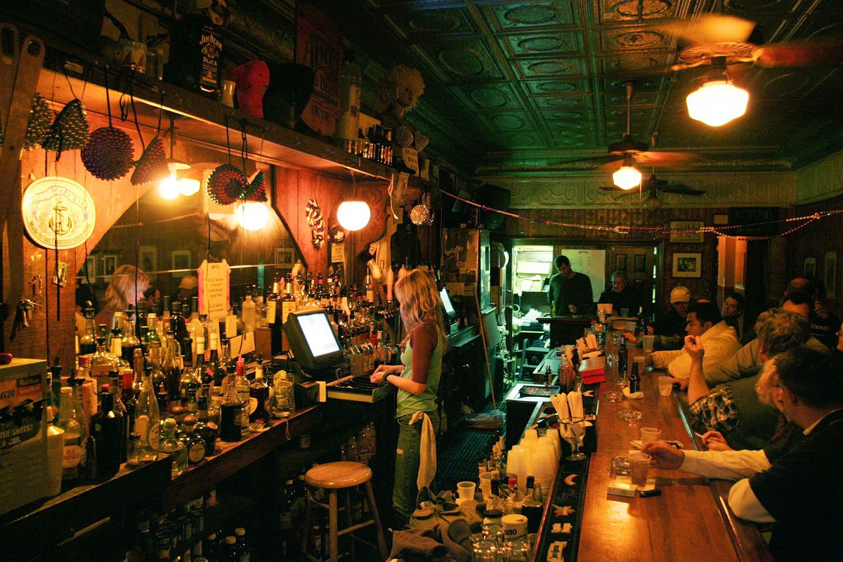 The Maple Leaf Bar in New Orleans.