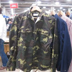 One of the heavier overshirts in camo.