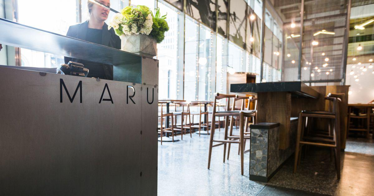 Maru Restaurant Montreal Menu