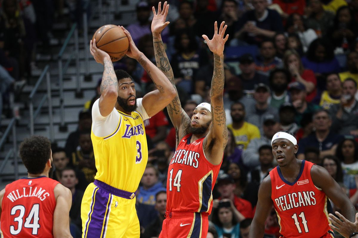 Game 35 Brandon Ingram And Pelicans Hope To Upend Anthony