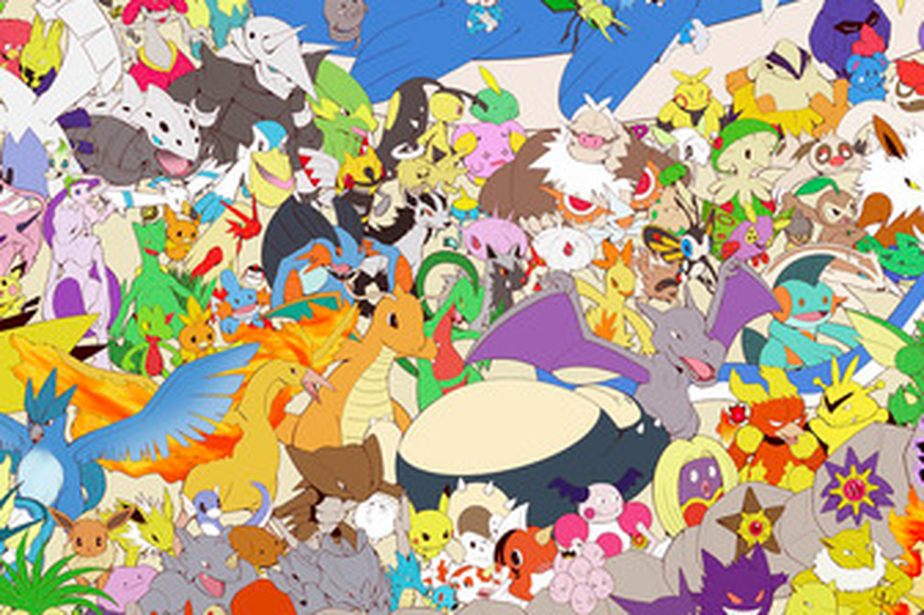 watch this time lapse of an illustrator drawing all 802 pokemon
