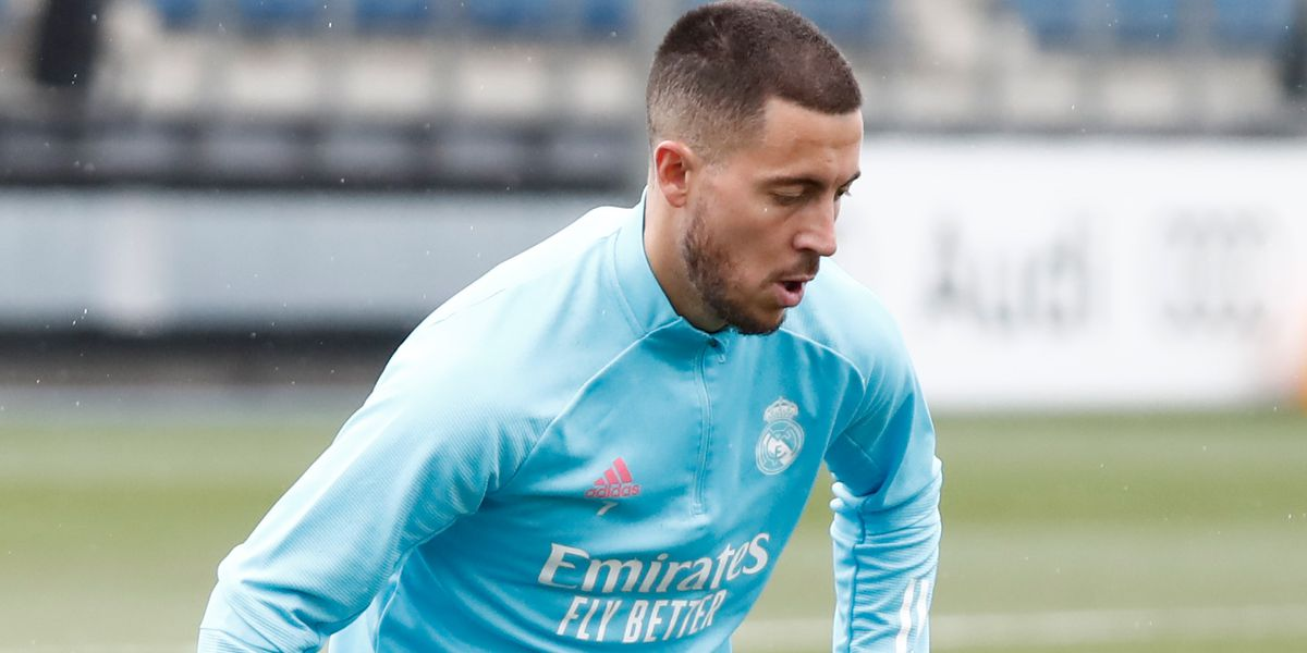 Hazard, Courtois and Valverde rejoin Real Madrid squad in training