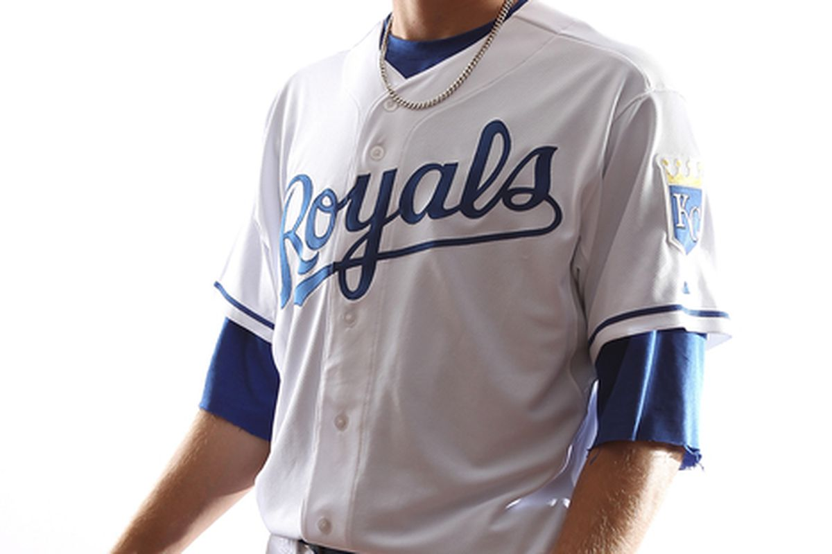 SURPRISE AZ - FEBRUARY 23:  Mike Montgomery #65 of the Kansas City Royals poses for a portrait during Spring Training Media Day on February 23 2011 at Surprise Stadium in Surprise Arizona..  (Photo by Jonathan Ferrey/Getty Images)