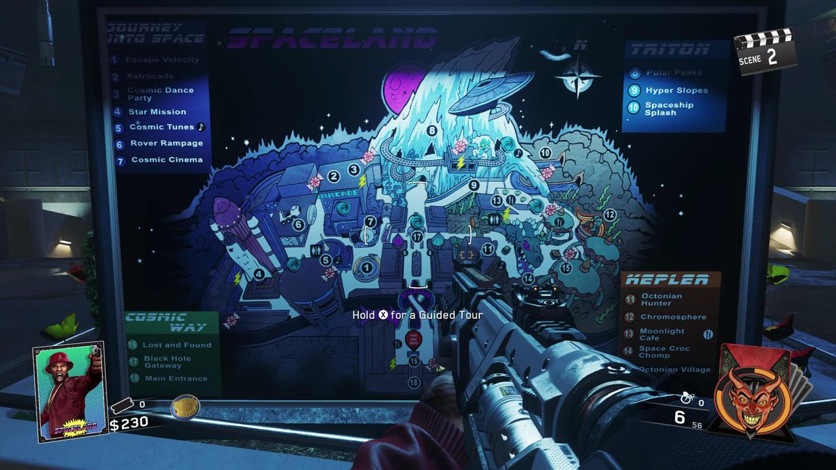 Call of Duty: Infinite Warfare Zombies in Spaceland strategy guide ...