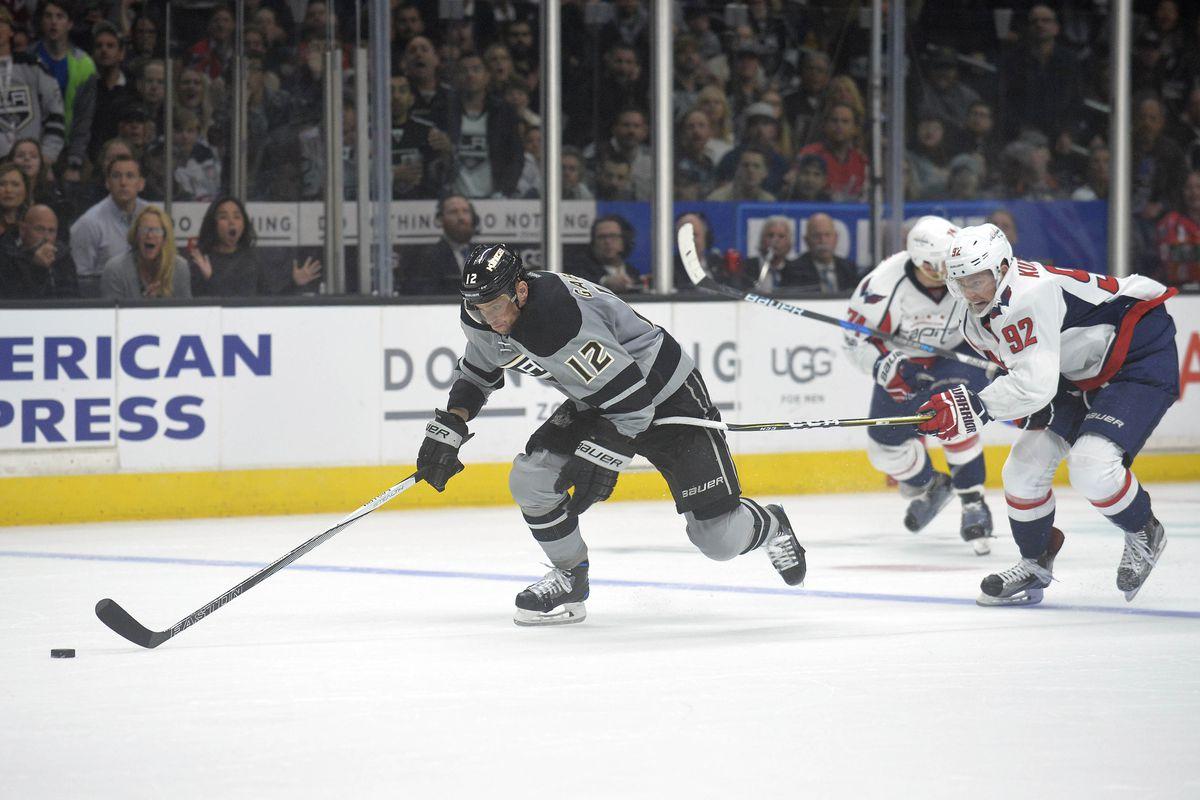 NHL: Washington Capitals at Los Angeles Kings