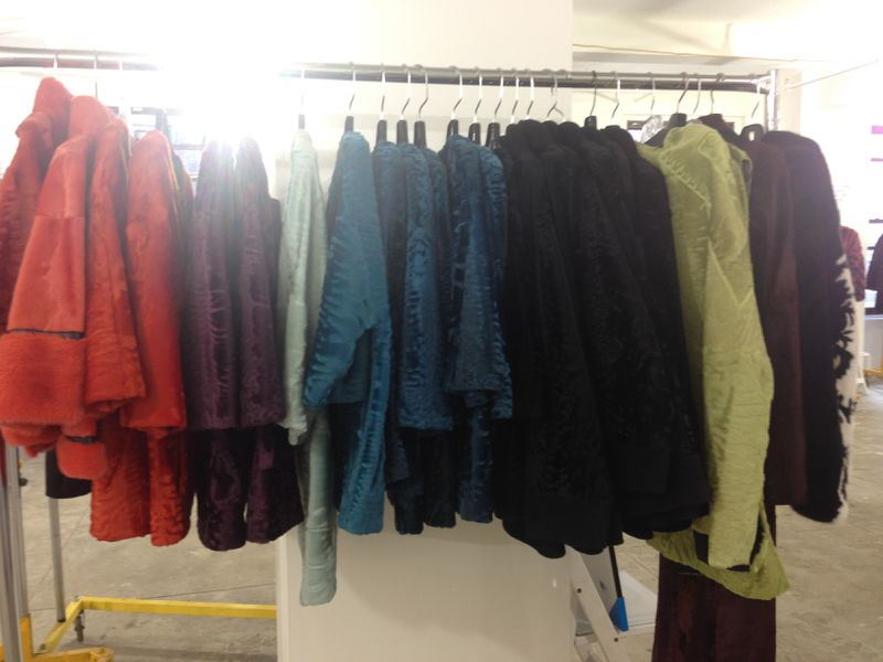 J. Mendel's Sample Sale Is Lavish, With a Ton of Fur and a Few ...